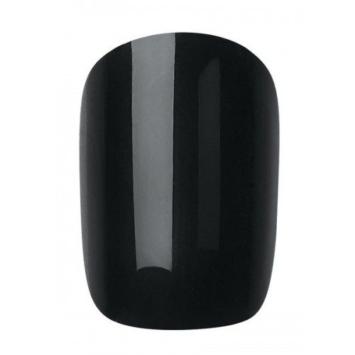 INSTANT BRILLIANT BLACK NAIL 24PCS + GLUE - 459 - 2017/2018