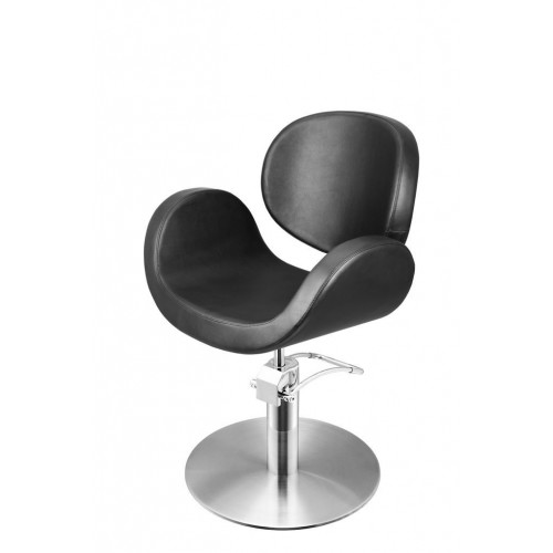 CONSCIENTIA CUTTING CHAIR BLACK WITH ROUND BASE