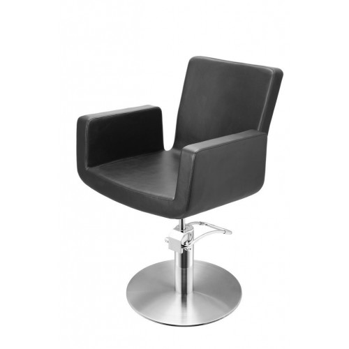 ATTRACTIO CUTTING CHAIR BLACK WITH ROUND BASE