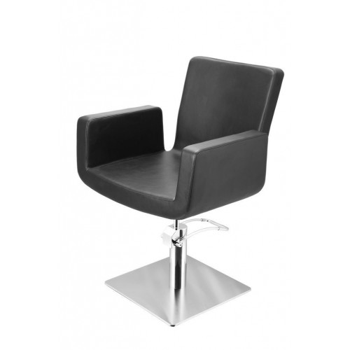 ATTRACTIO CUTTING CHAIR BLACK WITH SQUARE BASE