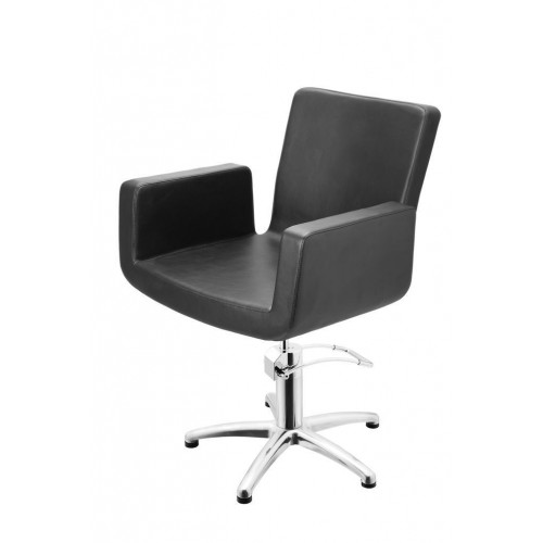 ATTRACTIO CUTTING CHAIR BLACK WITH 5 STAR BASE