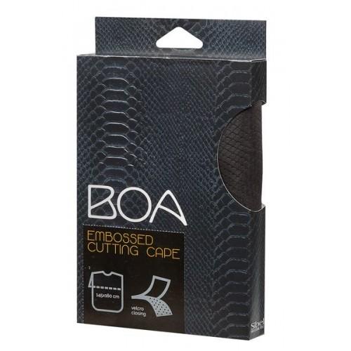 BOA CAPE A/RELIEF EN NOIR FERMETURE VELCRO SIBEL - (249) - 2