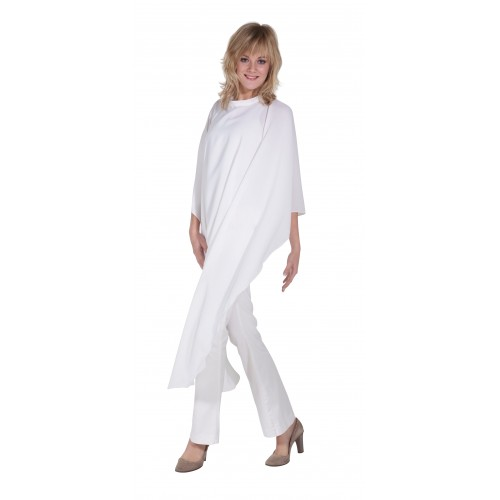 FLEXI CAPE AVEC CROCHETS BLANC SIBEL - (245) - 2018/2019