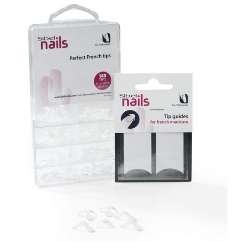 PERFECT FRENCH TIPS 140PCS - 454