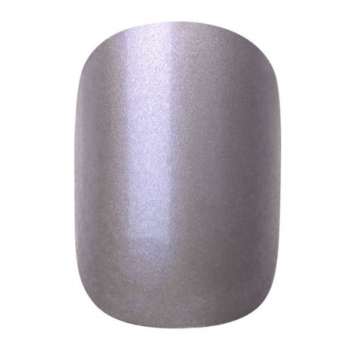 INSTANT METALLIC NAIL 24PCS + GLUE - 459 - 2017/2018