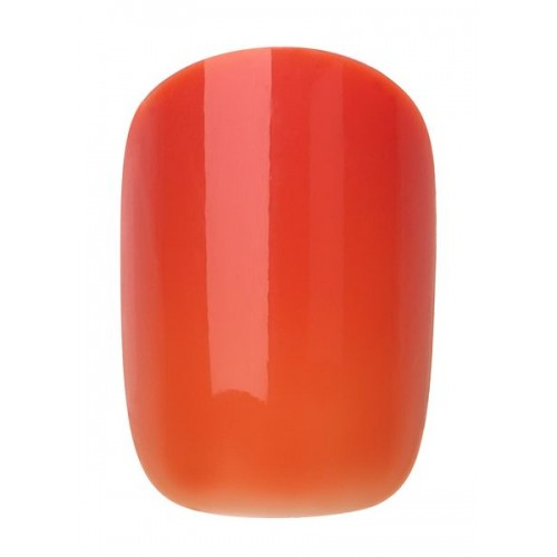 INSTANT HIBISCUS POLISHED NAIL 24PCS + GLUE - 459 - 2017/201