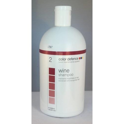 Wine shampoo 1000ml Color Defence