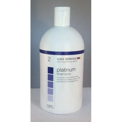 Platinium Shampoo 1000ml Color Defence