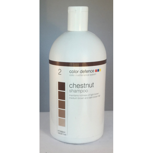 Chestnut Shampoo 1000ml Color Defence